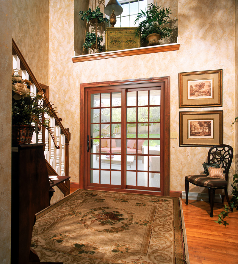 picture of some patio entry doors leading to a patio in charlotte nc - All Seasons Window & Door Co. 2821 Rosemont St, Charlotte, NC 28208 (704) 399-4244