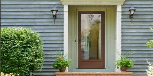 picture of a charlotte nc entry door replacement - All Seasons Window & Door Co. 2821 Rosemont St, Charlotte, NC 28208 (704) 399-4244