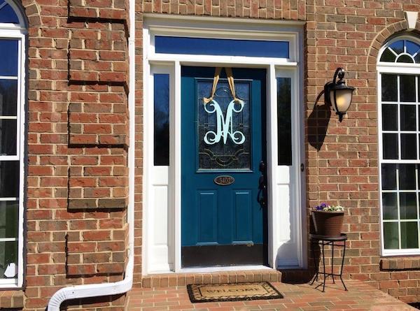 Before Front Door Replacement